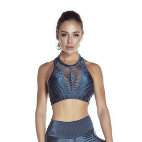 Top Cropped LIMITLESS Azul