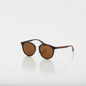 Óculos de Sol Glow Preto com Dourado
