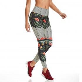 Legging Print Flawless Cinza