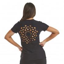 T-shirt Mandala Preto