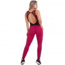 Macacão NZ Sportwear Bordô