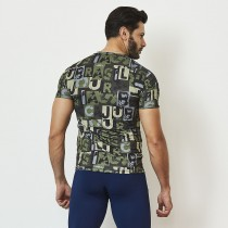 Camiseta Masculina Print CAJU Camouf