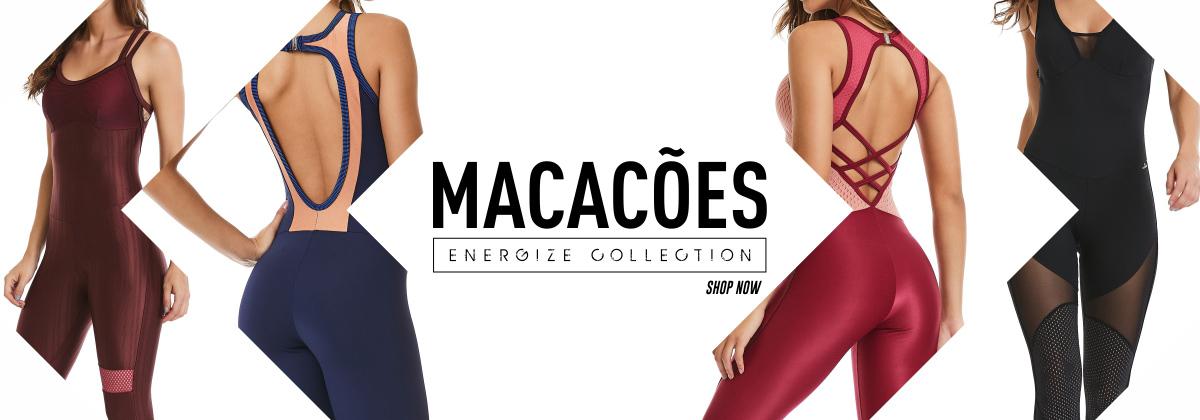 Macacões Energize Collection