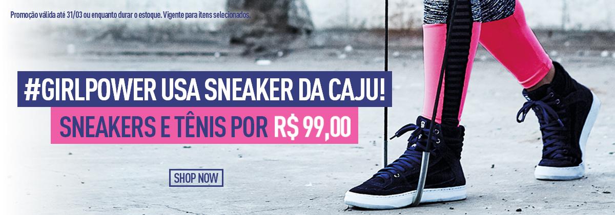 Sneakers e Tênis por R$99 - Shop Now