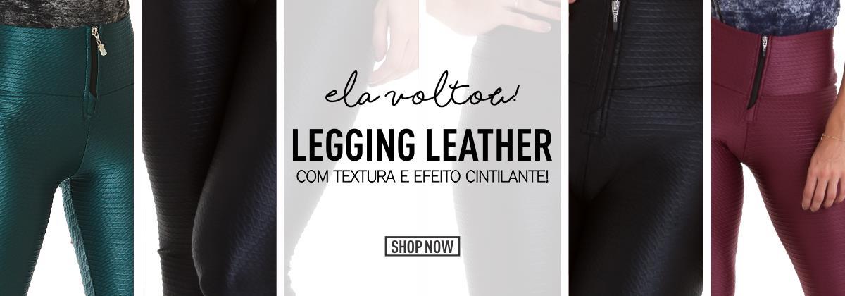 Legging Leather - CAJUBRASIL