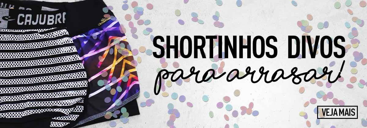 Shortinhos - Carnaval CAJUBRASIL 2018