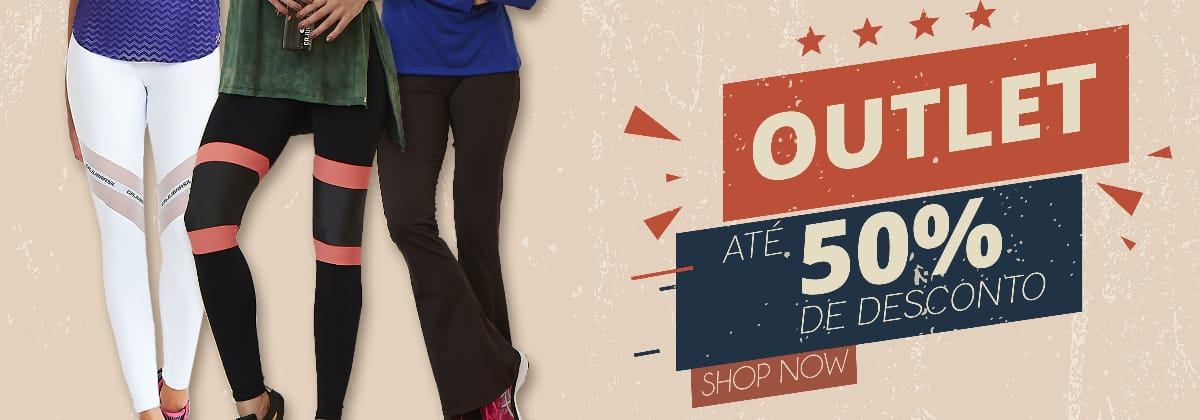 Outlet 50% Off - CAJUBRASIL