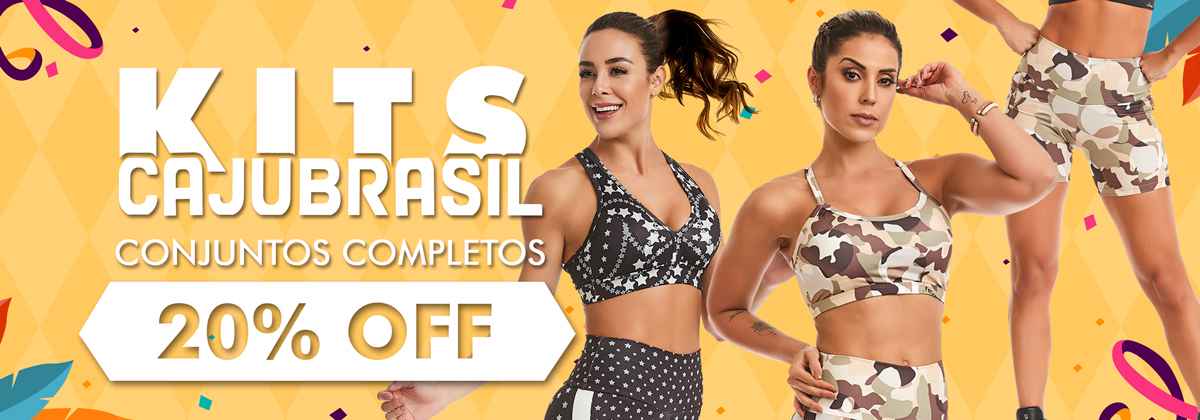 Kits CAJUBRASIL 20% Off