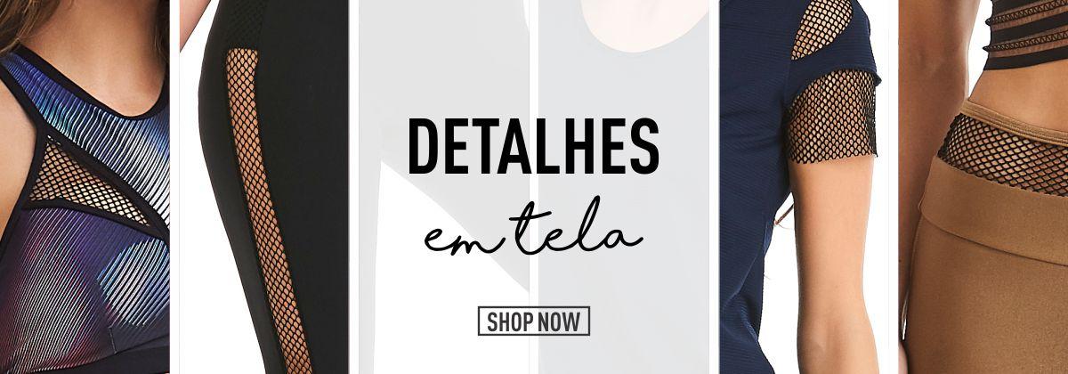 Detalhes em Tela