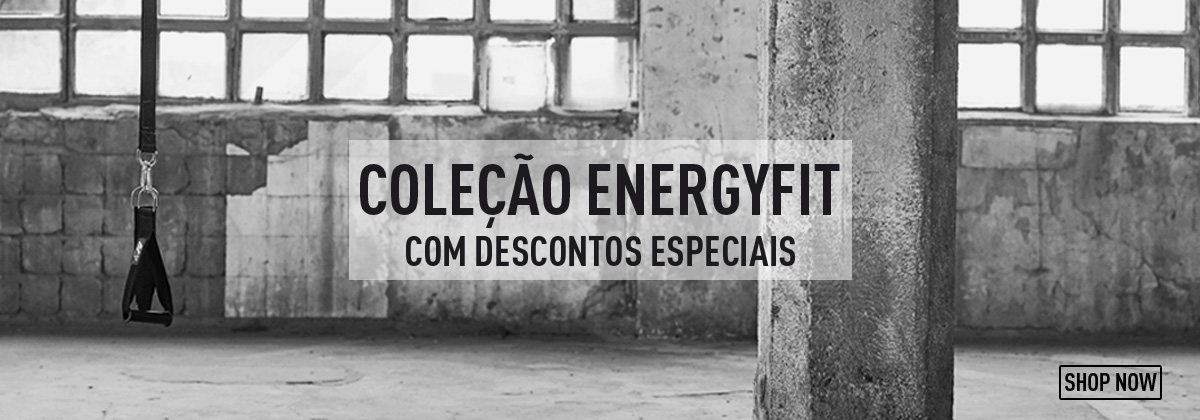 Coleção Energyfit com 10% de Desconto