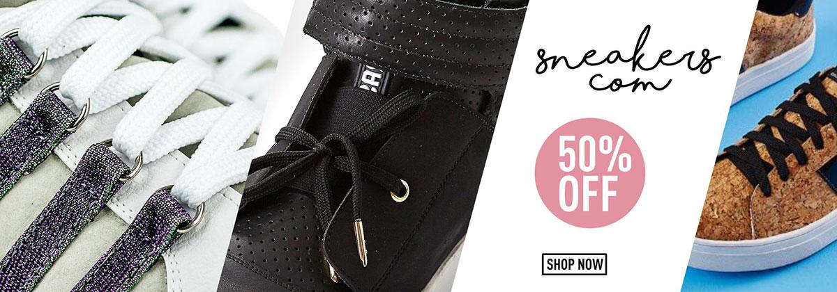 Promoção Sneakers 50% Off