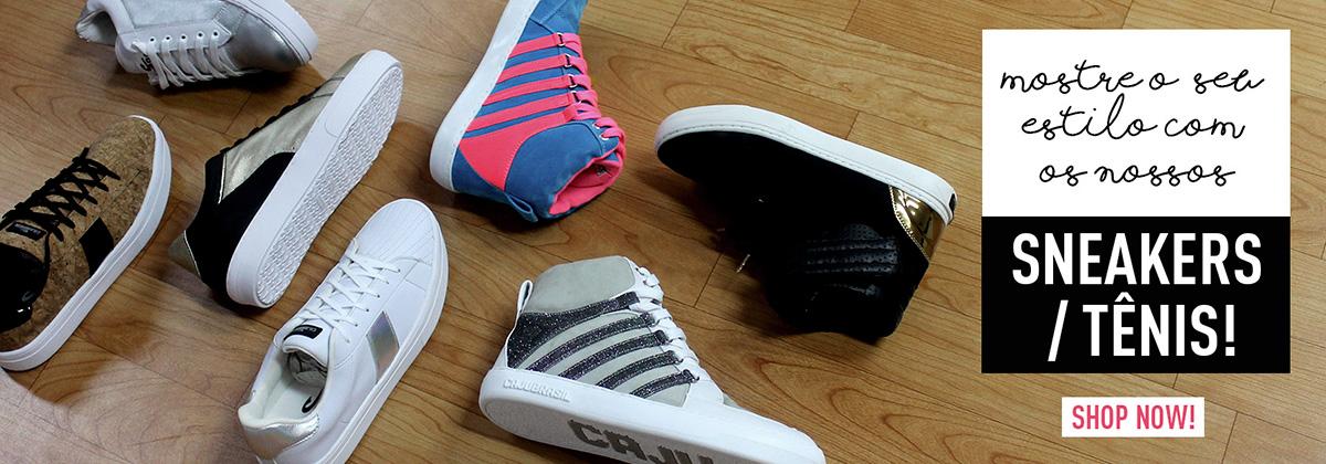 Mostre seu estilo com nossos Sneakers / Tênis